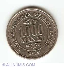 Image #1 of 1000 Manat 1999