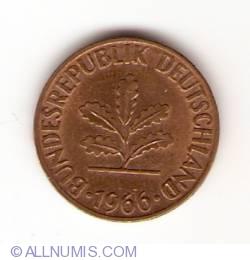 Image #2 of 1 Pfennig 1966 D