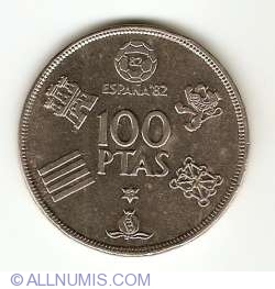 Image #1 of 100 Pesetas 1980 (80)