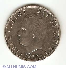 Image #2 of 100 Pesetas 1980 (80)