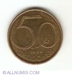 Image #1 of 50 Groschen 1994