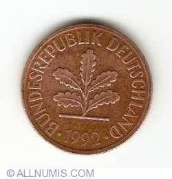 Image #2 of 2 Pfennig 1992 F
