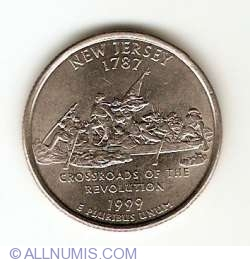 Image #1 of State Quarter 1999 P - New Jersey