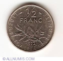 Image #1 of 1/2 Franc 1972