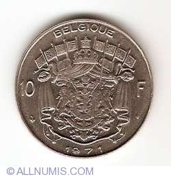 Imaginea #1 a 10 Franci 1971 (Belgique)