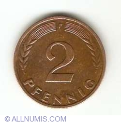Image #1 of 2 Pfennig 1958 F