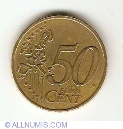 Imaginea #1 a 50 Euro Cent 1999