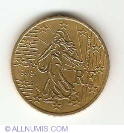 Image #2 of 50 Euro Cent 1999