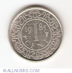 Image #1 of 1 Cent 1985