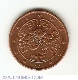 Imaginea #2 a 5 Euro Centi 2003