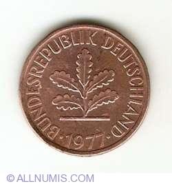 Image #2 of 2 Pfennig 1977 D