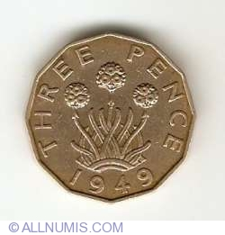 Threepence 1949