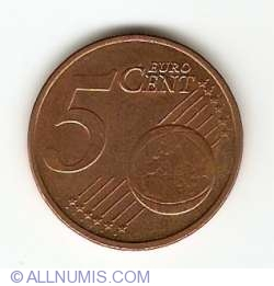 Image #1 of 5 Euro Cent 2008