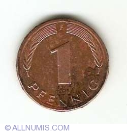 Image #1 of 1 Pfennig 1981 F