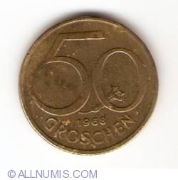 Image #1 of 50 Groschen 1968