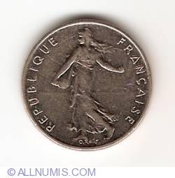 Image #2 of 1/2 Franc 1987