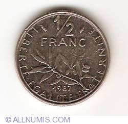 Image #1 of 1/2 Franc 1987