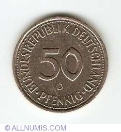 Imaginea #1 a 50 Pfennig 1991 D