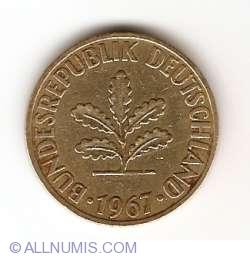 Image #2 of 10 Pfennig 1967 J