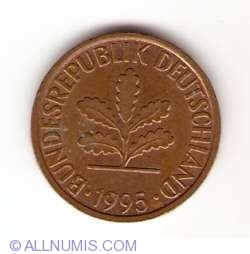 Image #2 of 2 Pfennig 1995 J