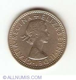 6 Pence 1962