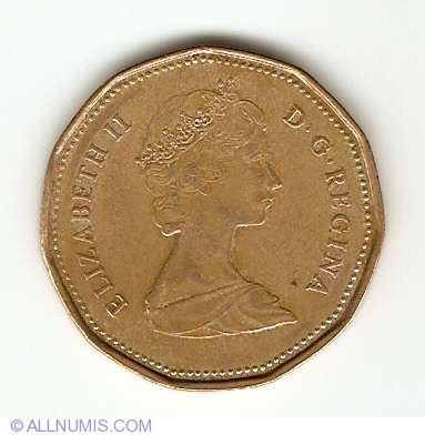 Coin Of 1 Dollar 1989 From Canada Id 4624
