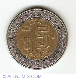 5 Pesos 1999