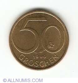 Image #1 of 50 Groschen 1990
