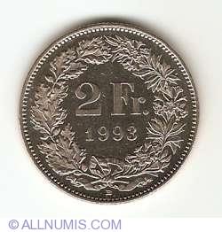 Image #1 of 2 Francs 1993