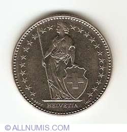 Image #2 of 2 Francs 1993