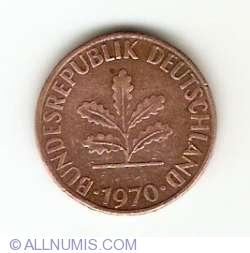 Image #2 of 1 Pfennig 1970 D