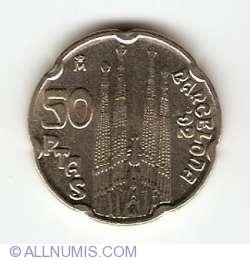 Image #1 of 50 Pesetas 1992