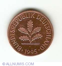 Image #2 of 1 Pfennig 1995 J
