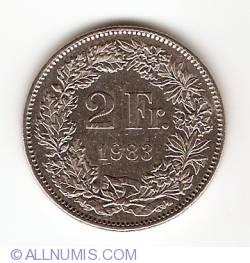 Image #1 of 2 Francs 1983