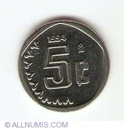 Image #1 of 5 Centavos 1994