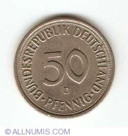 Imaginea #1 a 50 Pfennig 1981 D
