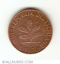 Image #2 of 1 Pfennig 1970 J