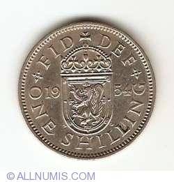 Image #1 of 1 Shilling 1954
