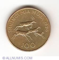 Image #1 of 100 Shilingi 1994
