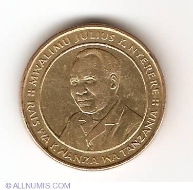 TANZANIA 100 SHILINGI 1994 UNC FOUR IMPALAS RUNNING RIGHT,CONSERVATION.BUST OF P