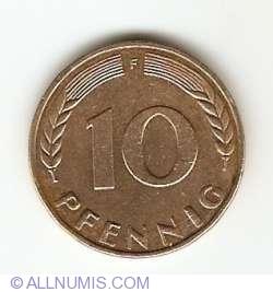 Image #1 of 10 Pfennig 1971 F