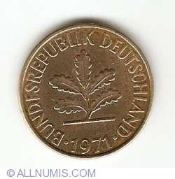 Image #2 of 10 Pfennig 1971 F