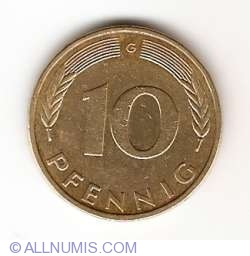 Image #1 of 10 Pfennig 1993 G