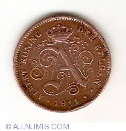 Image #2 of 2 Cents 1911 (Belgen)