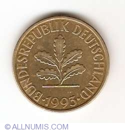 Image #2 of 10 Pfennig 1993 G