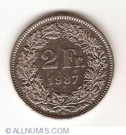 Image #1 of 2 Francs 1987