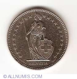 Image #2 of 2 Francs 1987