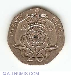 20 Pence 1989