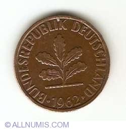 Image #2 of 2 Pfennig 1962 G