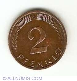 Image #1 of 2 Pfennig 1962 G